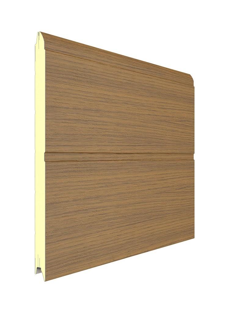Garagentor Sektionaltor Golden Oak  DoorHan zu Selbstmontage