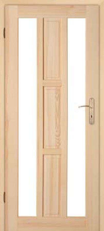 Zimmertür modern  Holztüren kaufen mit Zarge und Glas Hamburg Doors GbR Rastatt