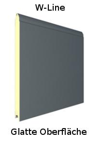 Design W-Line (L-Sicke) Oberfläche Glatt