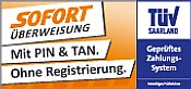 Sofortüberweisung.de Logo akzeptierte Zahlungsmethode der Doors GbR aus Rastatt