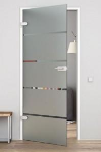 UVSSS Glastür mit Beschlag Levidor