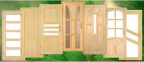 Holztüren + Zarge Set