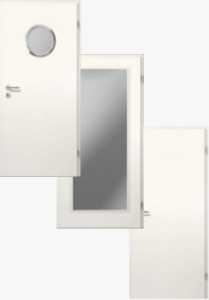 Weißlack Türen + Zarge Set